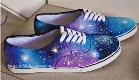 galaxy nebula shoes