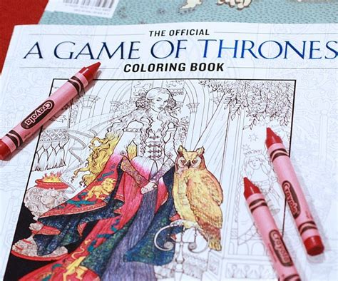 thrones coloring book official the official of thrones coloring book randowant