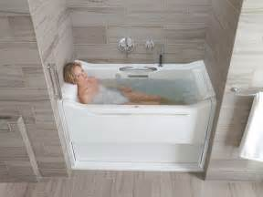 Kohler Sterling Bathtub Kohler K 1914 Grb 0 Elevance Bubblemassage Rising Wall
