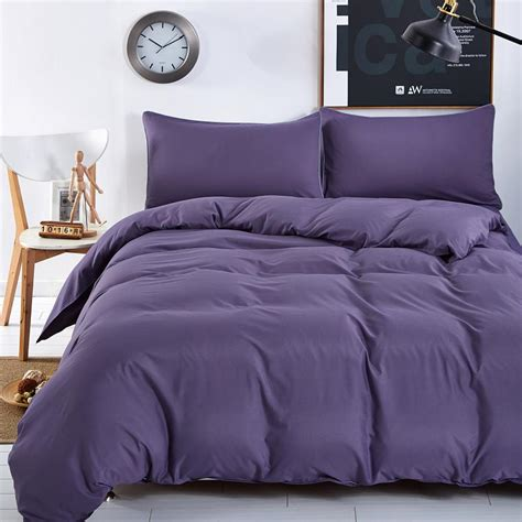 lake bedding new bedding sets smoked purple simple color lake blue