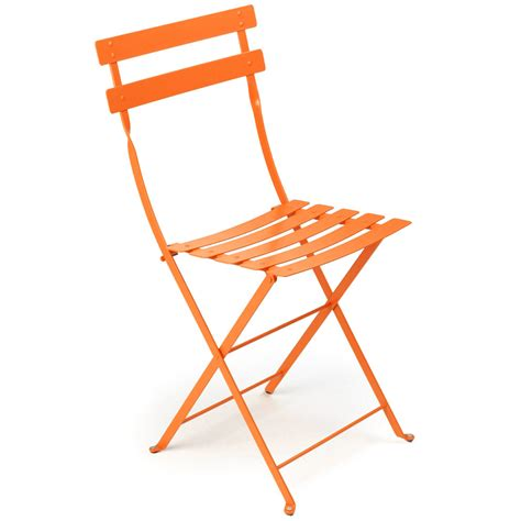 Metal Bistro Chairs Bistro Folding Chair Set Of 2 Fermob Horne