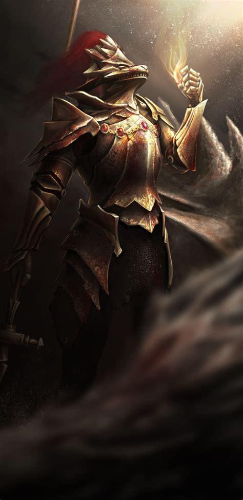 dragon slayer ornstein by hq kamissar on deviantart