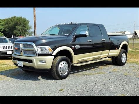 dodge 3500 dually longhorn vs ford f350 dually king ranch