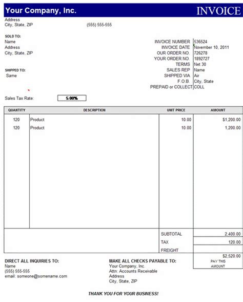 invoice template excel 2010 invoice template category page 1 efoza