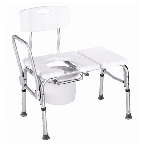 bathtub transfer bench with cut out carex health brands