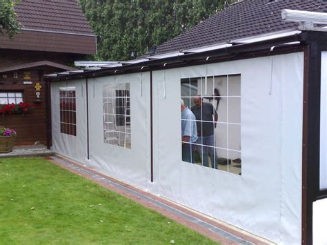 Pvc Wintergarten Terrassenverkleidung pvc terrassenverkleidungen mit ma 223 anfertigung schall