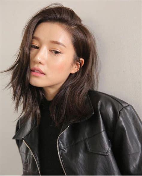 Asian Medium Hairstyles by Best 25 Medium Asian Hair Ideas On Korean