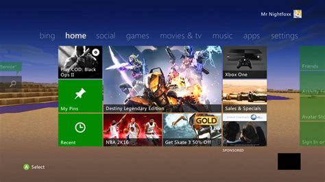 how to cutomize your xbox 360 home screen 2015
