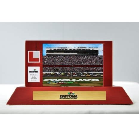 gifts for nascar fans daytona int l speedway desk display great gifts for
