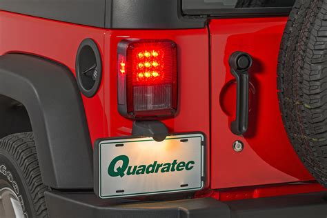 jeep jk led tail lights quadratec led tail lights for 07 18 jeep wrangler jk