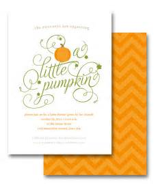 pumpkin baby shower invite on behance