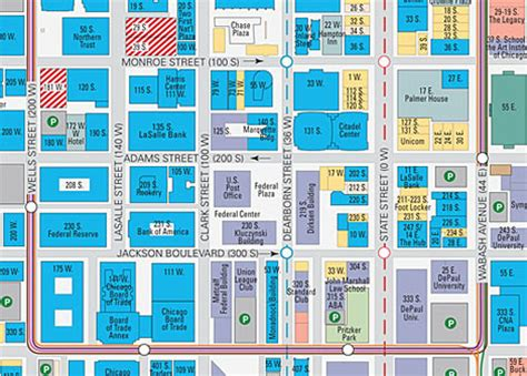 downtown chicago map printable back next downtown chicago map detail