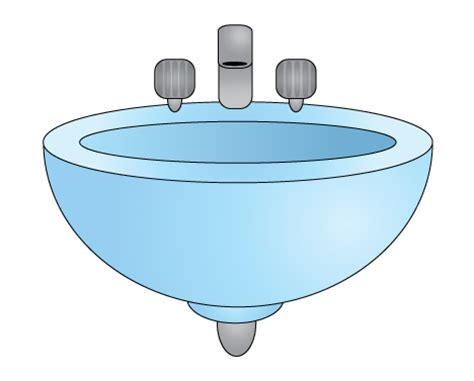 cartoon bathroom sink how to draw a bathroom sink 6 steps with pictures wikihow