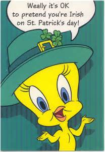 tweety bird st s day card marges8 s