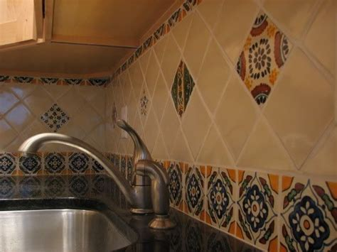 spanish tile kitchen backsplash pin by carole sandoval on kitchen pinterest