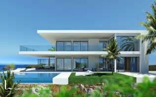 Spanish Villa Style Homes 34000 Villa De Design Moderne La Alqueria Marbella