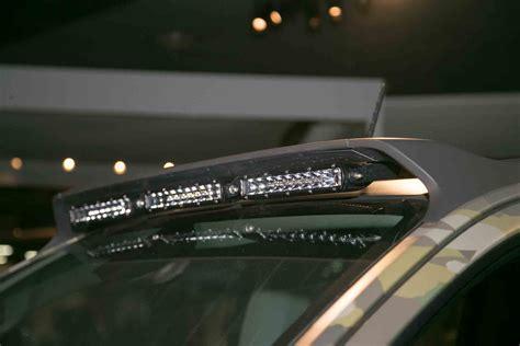 chevy colorado light bar install the chevrolet colorado zh2 fuel cell previews the future