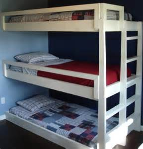 3 Kid Bunk Bed Bunk Beds