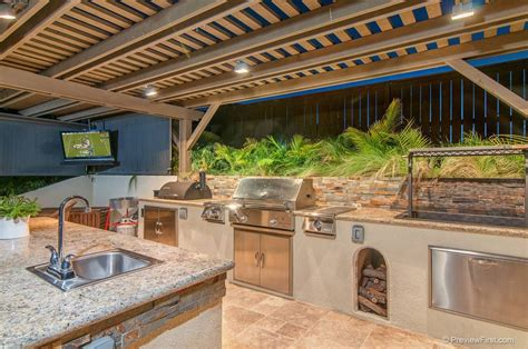 outdoor kitchen design plans 27 outdoor kitchen designs to drool over gallery