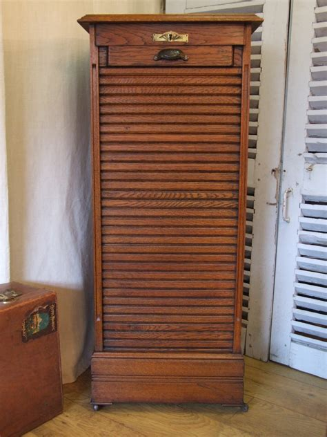 antique wooden file cabinets for f520 vintage french oak filing cabinet with single