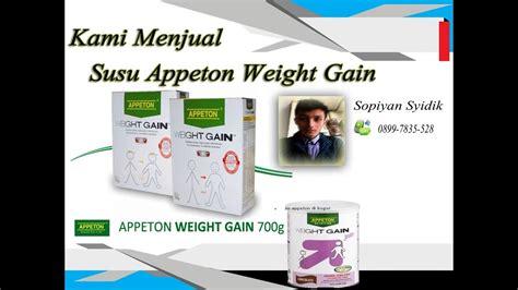 Appeton Again jual appeton weight gain bogor