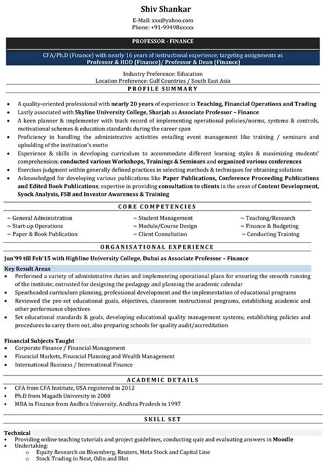 impressive resume format for accountant freshers impressive resume format freshers experienced cv sle for seekers privatejobshub in