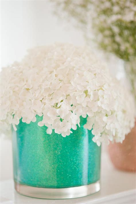 How To Make Glitter Vases diy glitter vases the sweetest occasion