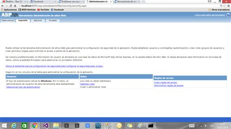tutorial asp net visual studio 2013 pedacitos de programaci 243 n c y sql membership de asp net