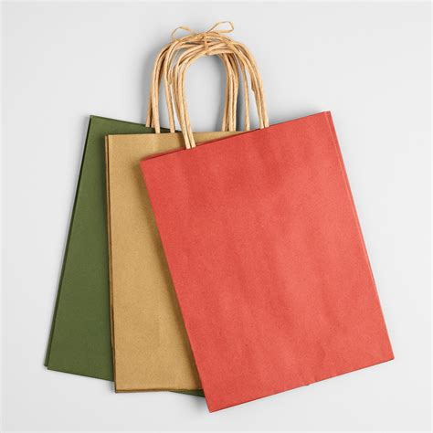 medium kraft gift bags 6 pack world market
