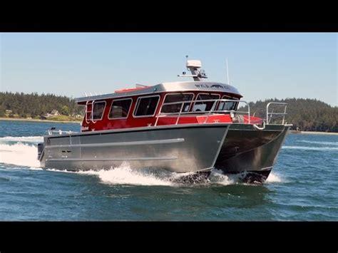 aluminum catamaran fishing boats for sale aci boats alegria 1534xc 34 aluminum catamaran youtube