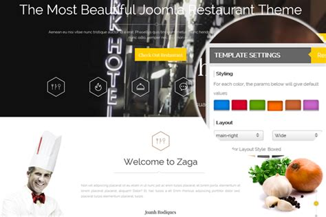 themeforest zaga download themeforest zaga responsive onepage restaurant