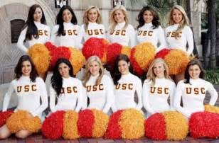College cheerleaders usc song girls