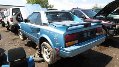 toyota car yard junkyard find 1986 toyota mr2 the truth about cars