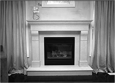 feeling risky get a metal fireplace surround