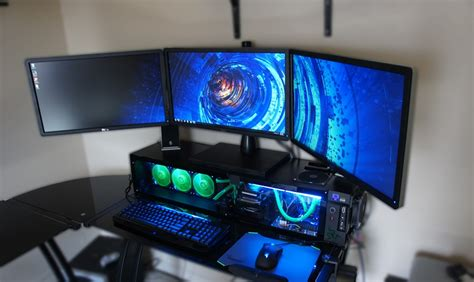 Gaming Pc In Desk by The Best Way To Get The Gaming Computer Desk Easy Gaming