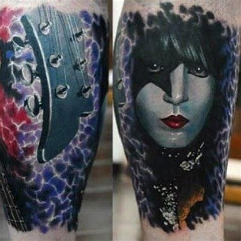 paul stanley rose tattoo 23 best cool tattoos images on tattoos