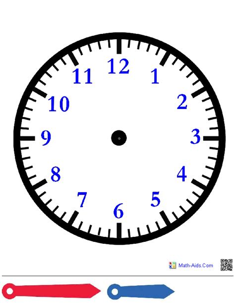 printable clock template with hands time worksheets time worksheets for learning to tell time
