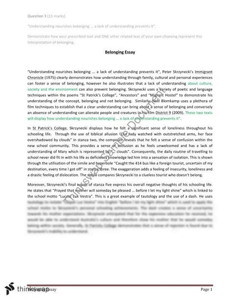 belonging thesis economics thesis resume format for it freshers