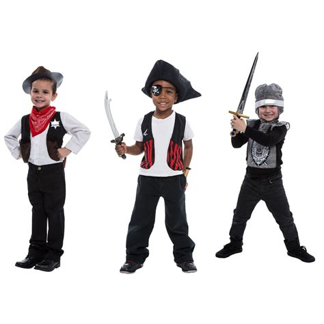 J12087 3 In 1 Set Dress buy deluxe 3 in 1 dress up set pirate sheriff