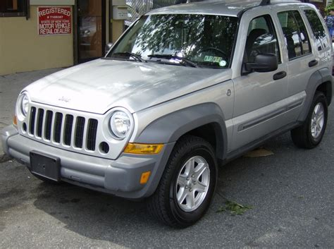 Used Jeep Liberty For Sale Used 2006 Jeep Liberty Sport 4x4 6 990 00