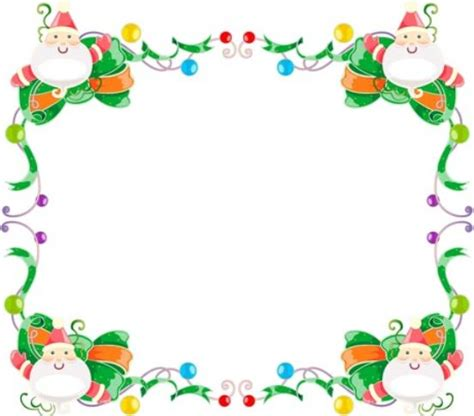 Free christmas clip art borders frames clipart best clipart best