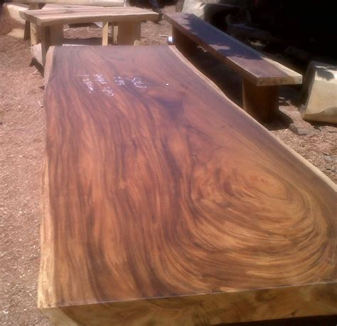 indogemstone wood slab table