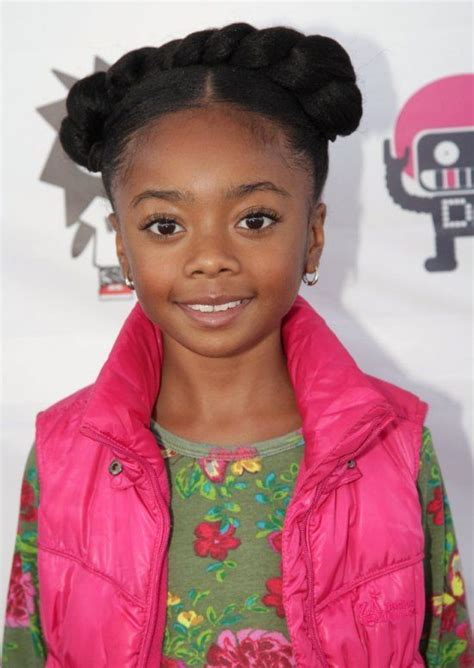 good hair cuts for kids 11 years old fro spotting adorable skai jackson disney updo and