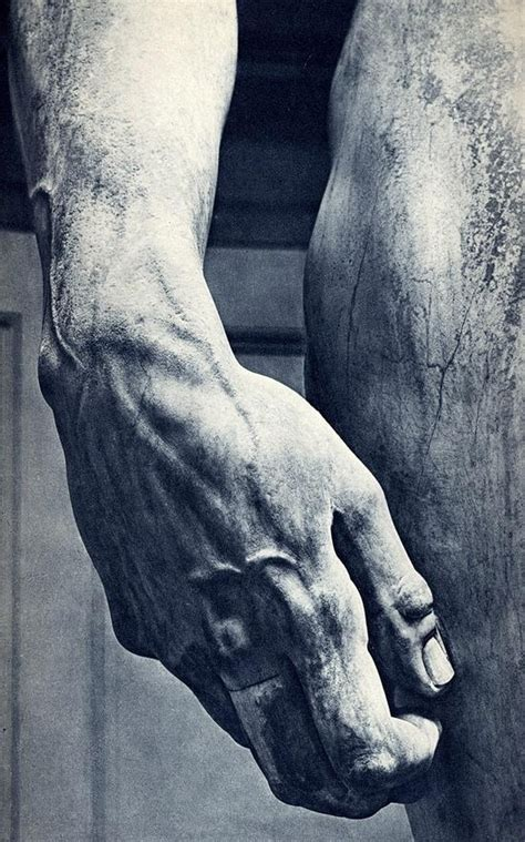 michelangelo david sculpture michelangelo s david hand detail regarde pinterest