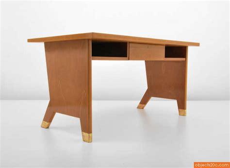 gio ponti desk and wall shelf objects20c