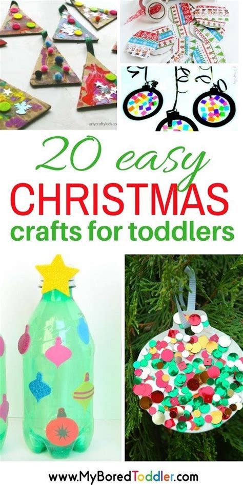 two year olds christmas crafts easy crafts for toddlers activities for 1 2 and 3 year olds