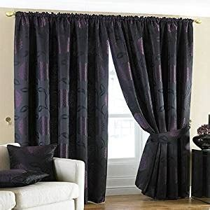 Where To Buy 90 Inch Curtains Sandringham Pencil Pleat Curtains Damson 90