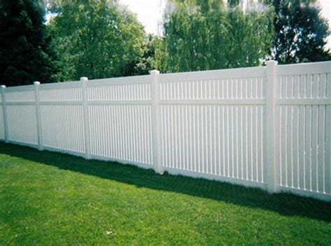 backyard fences with white wooden color theme ideas home