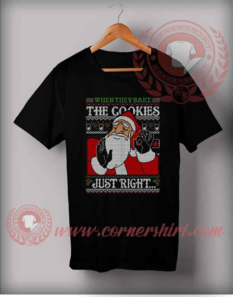 Justrigt T Shirt just right santa t shirt gifts for friends