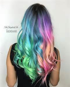 hair with color holographic hair color hair colors ideas